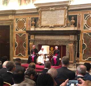 FICT – Udienza dal Santo Padre. La centralità della relazione e dell'ascolto