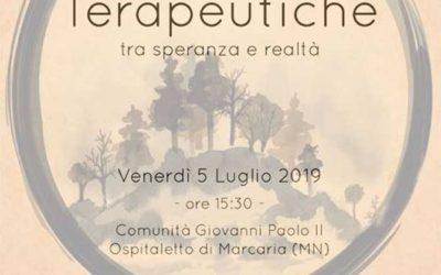 """""""Arca, Centro Mantovano di Solidarietà"""" – Convegno: """"Comunità Terapeutiche tra speranza e realtà"""""""