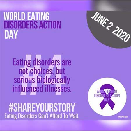 Giornata Mondiale dei disturbi alimentari – Il Coordinamento Nazionale Disturbi Alimentari: è una malattia che coinvolge più di 70 milioni di persone nel mondo