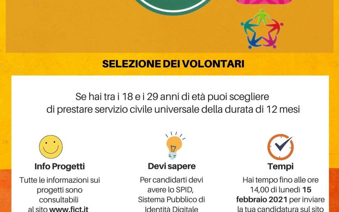 Servizio Civile Universale con la Federazione Italiana Comunità Terapeutiche: a disposizione 221 posti!